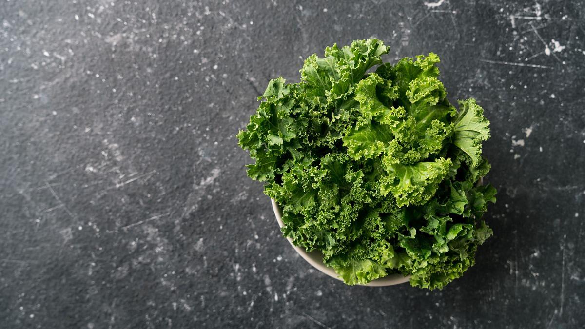 Kale has powerful antioxidant and anti-inflammatory properties.