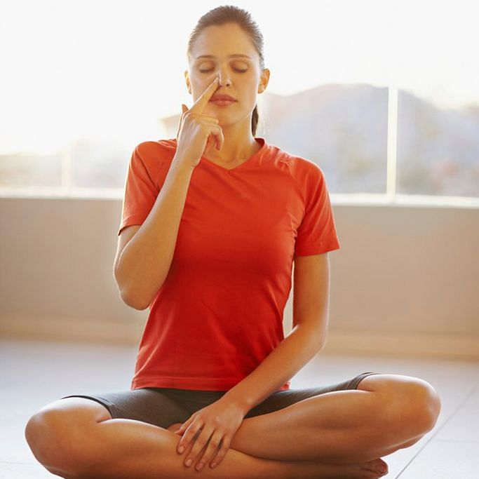 Yoga and breathing help with a healthy heart.