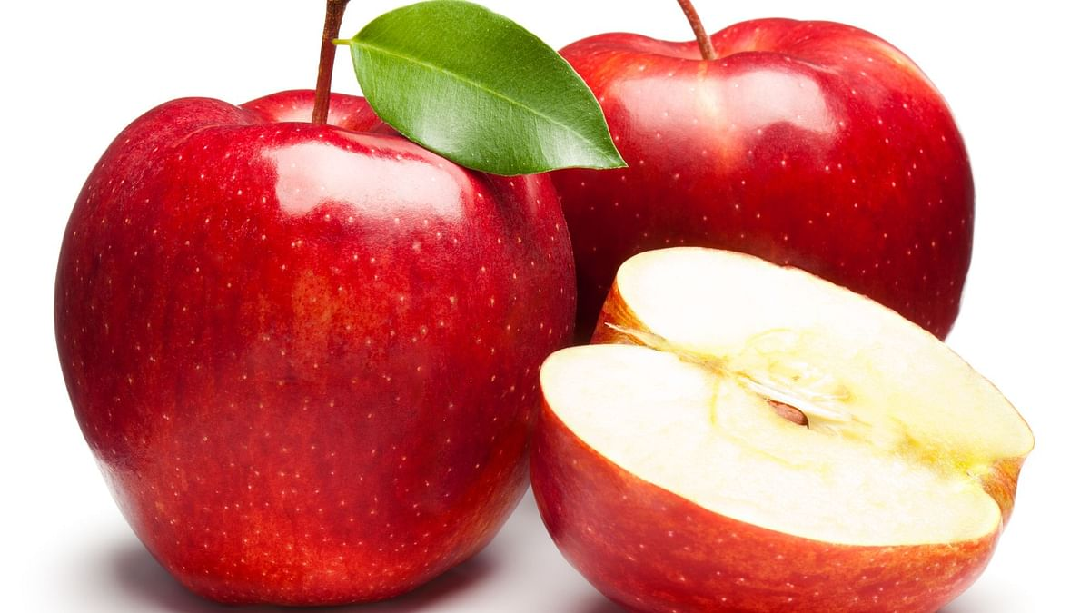 An apple a day keeps your skin glowing.
