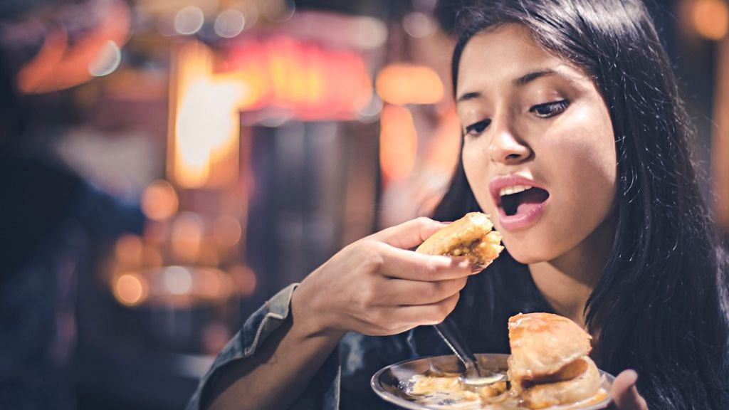 """Eating """"socially"""" has a powerful effect on increasing food intake relative to dining alone, said the study"""