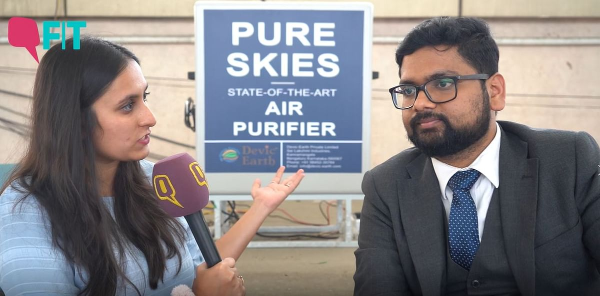 Can This Device Clean  Air Pollution in India's Cities?