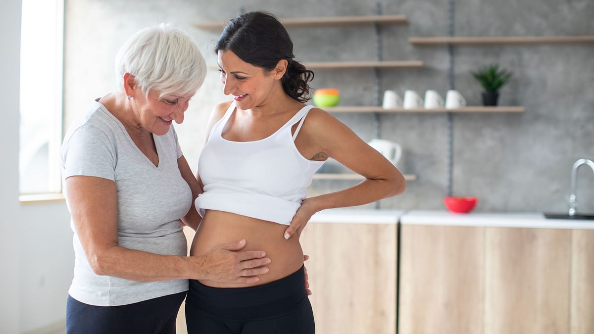 Most pregnant women look to their mothers for guidance over professionals, finds study.