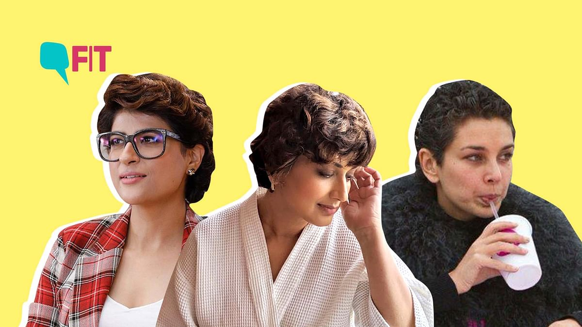 Tahira Kashyap (L), Sonali Bendre (M) and Lisa Ray (R) own their cancer curls