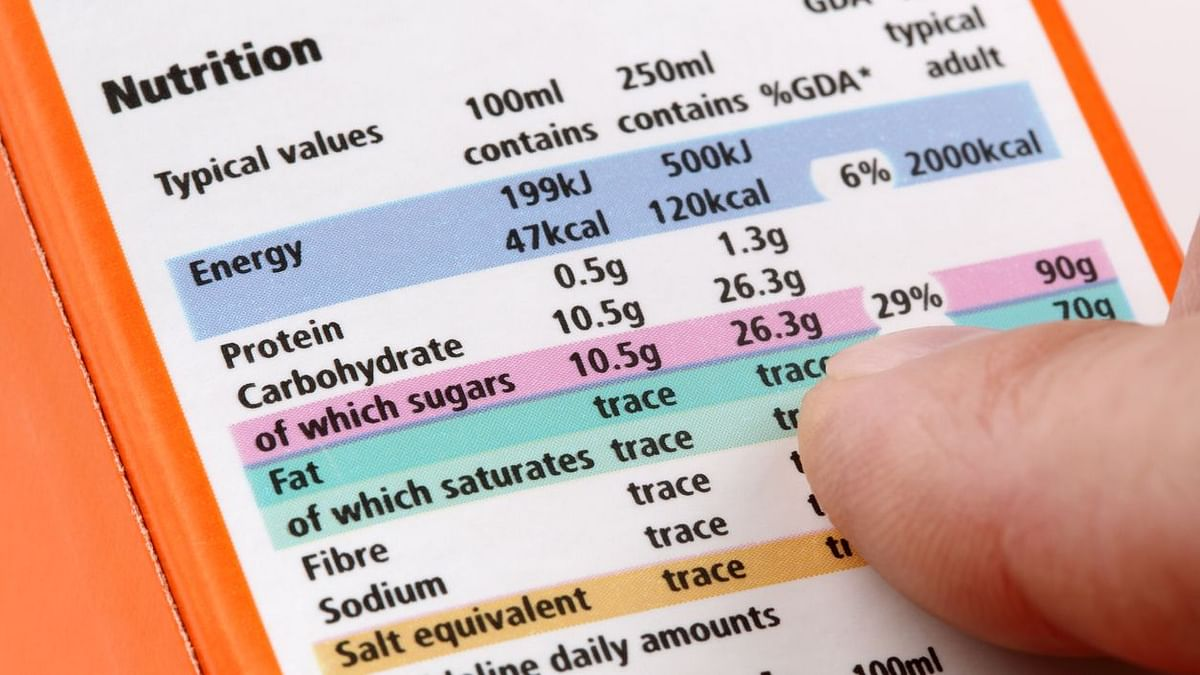 People need new labels on food items to know the amount of exercise needed to burn calories after eating it, according to the study.