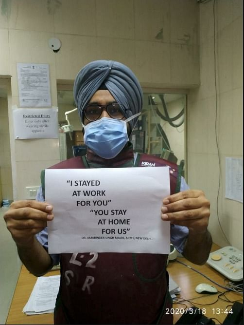 'Stay Home for Us': Viral AIIMS Doc Shares Message on COVID-19