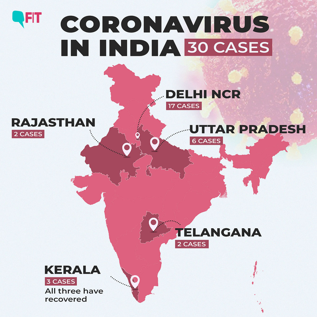 COVID-19 India Update: 30 Cases, Italians Shifted to Medanta