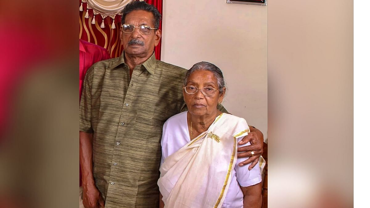 93-year-old Thomas and 88-year-old Mariyamma have made a full recovery from the COVID-19 infection.