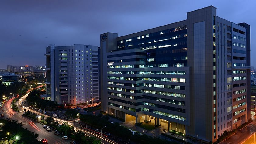 Raheja Mindspace Hyderabad, where DSM is located.
