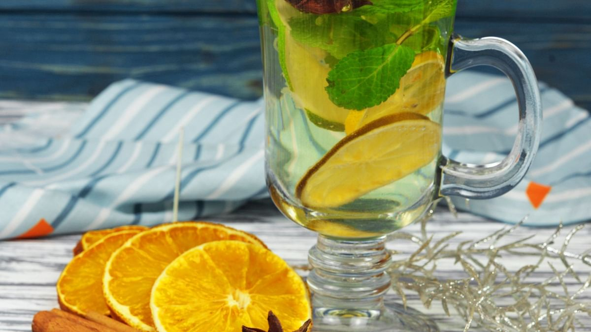 Lemon water makes the gut alkaline and is anti-inflammatory.