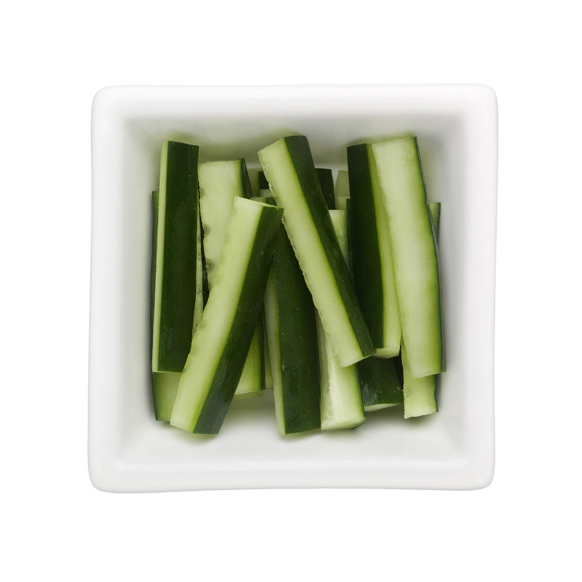 Cucumber sticks can be a great option for a quick healthy grab.