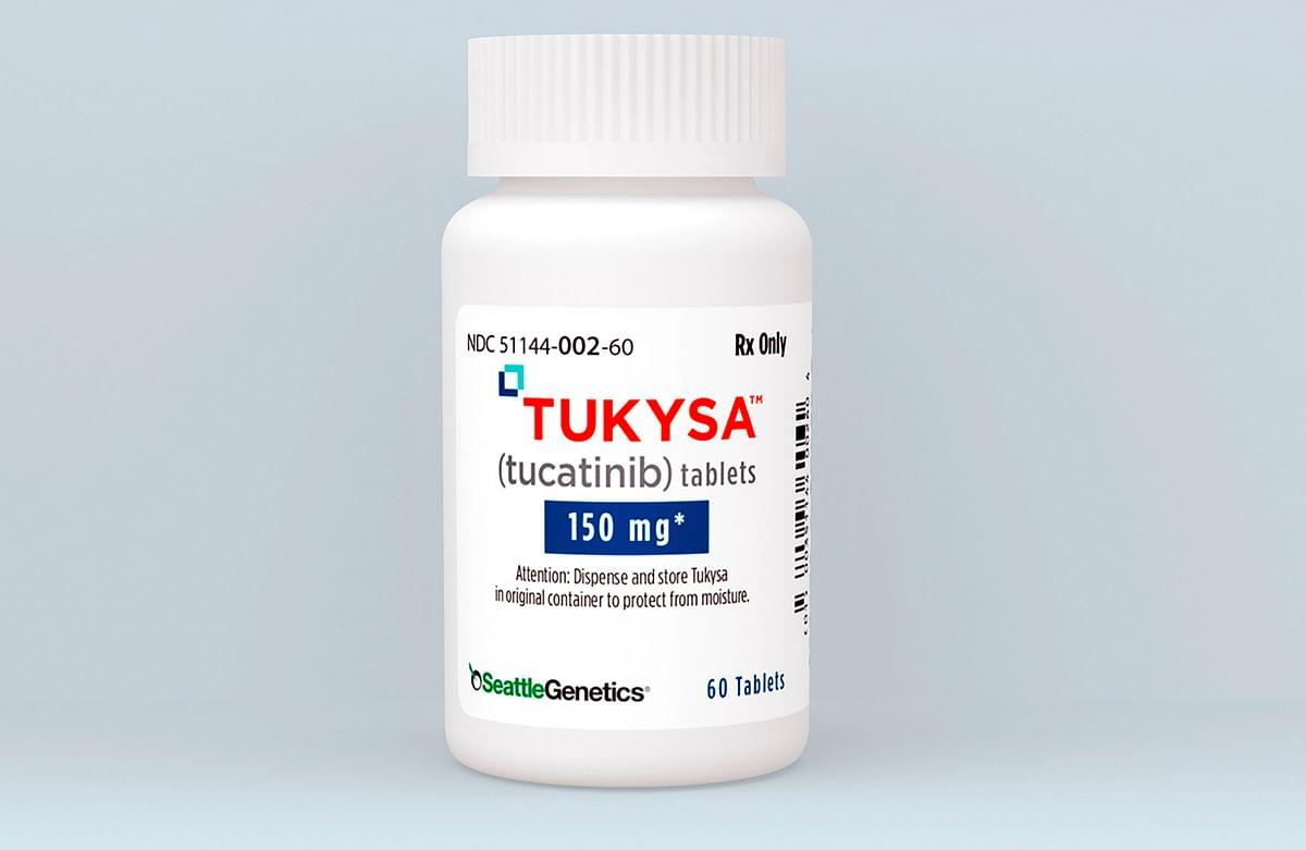 Breast cancer drug Tukysa, developed by Seattle Genetics. U.S. regulators