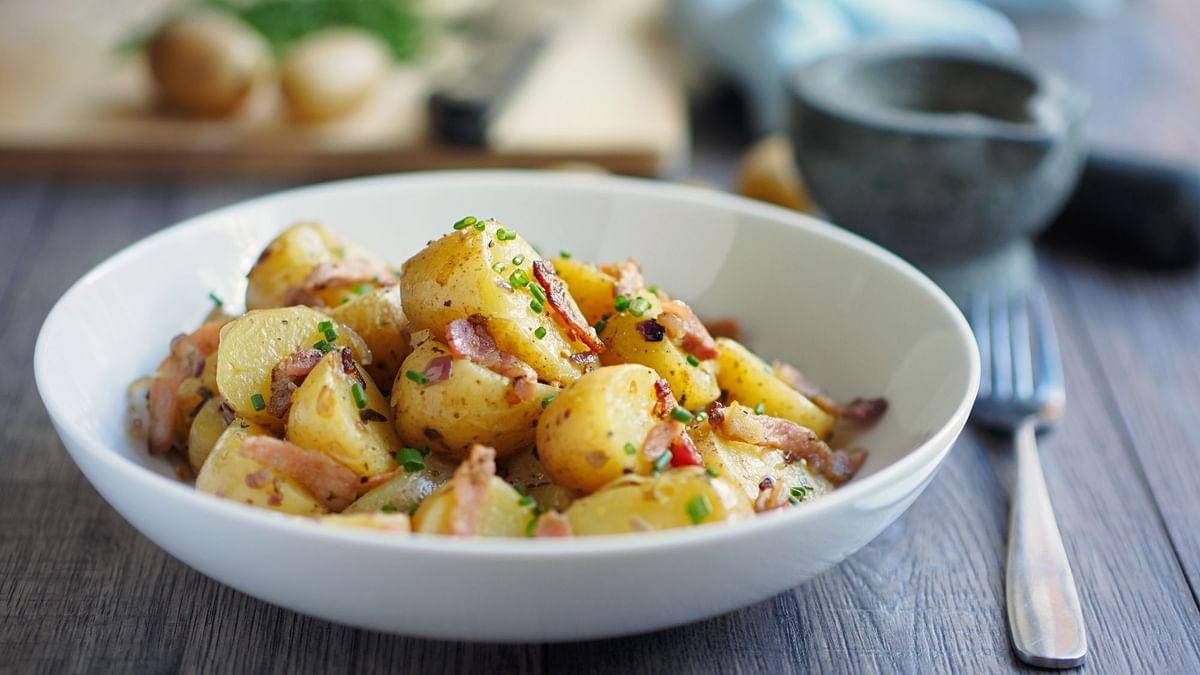Potato Salad is a tasty and heathy option