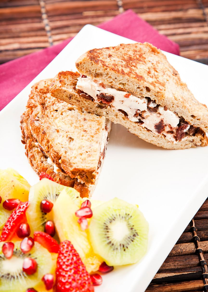 Protein packed French toast
