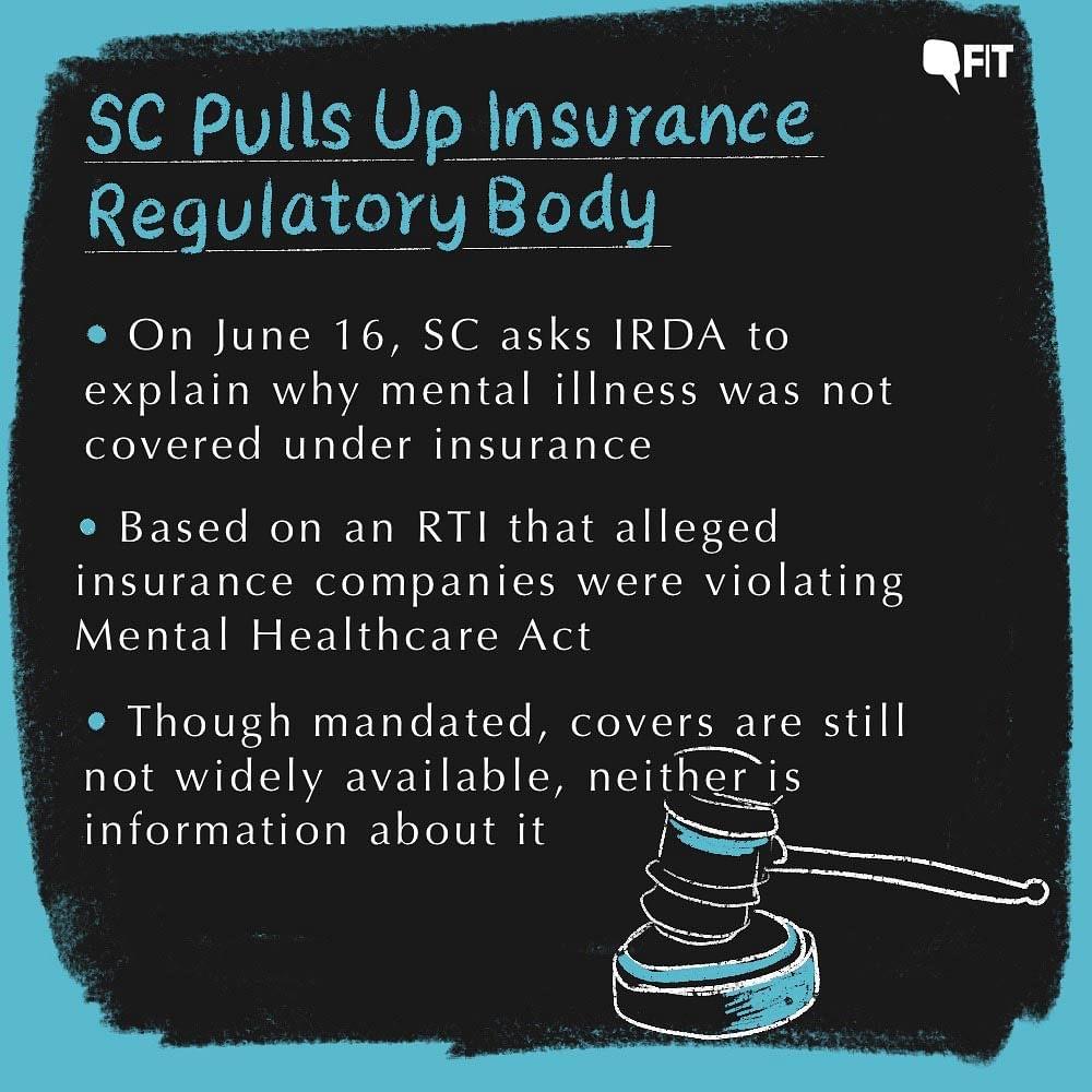SC Pulls Up Insurance Regulatory Body