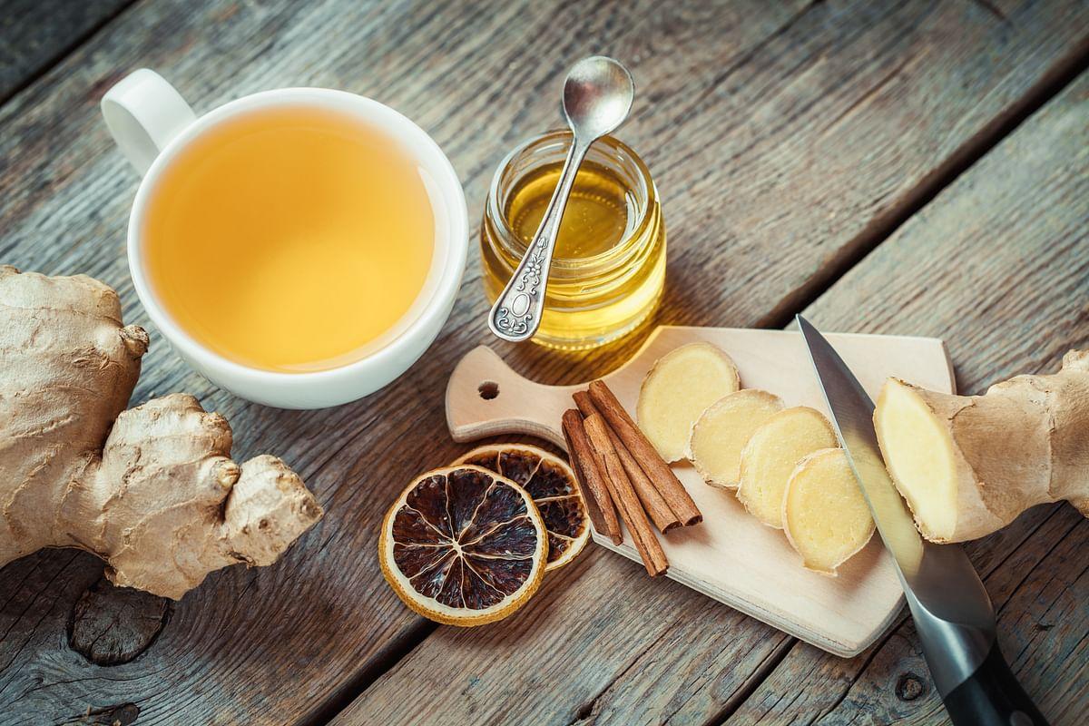 Cinnamon Ginger Lemon Tea