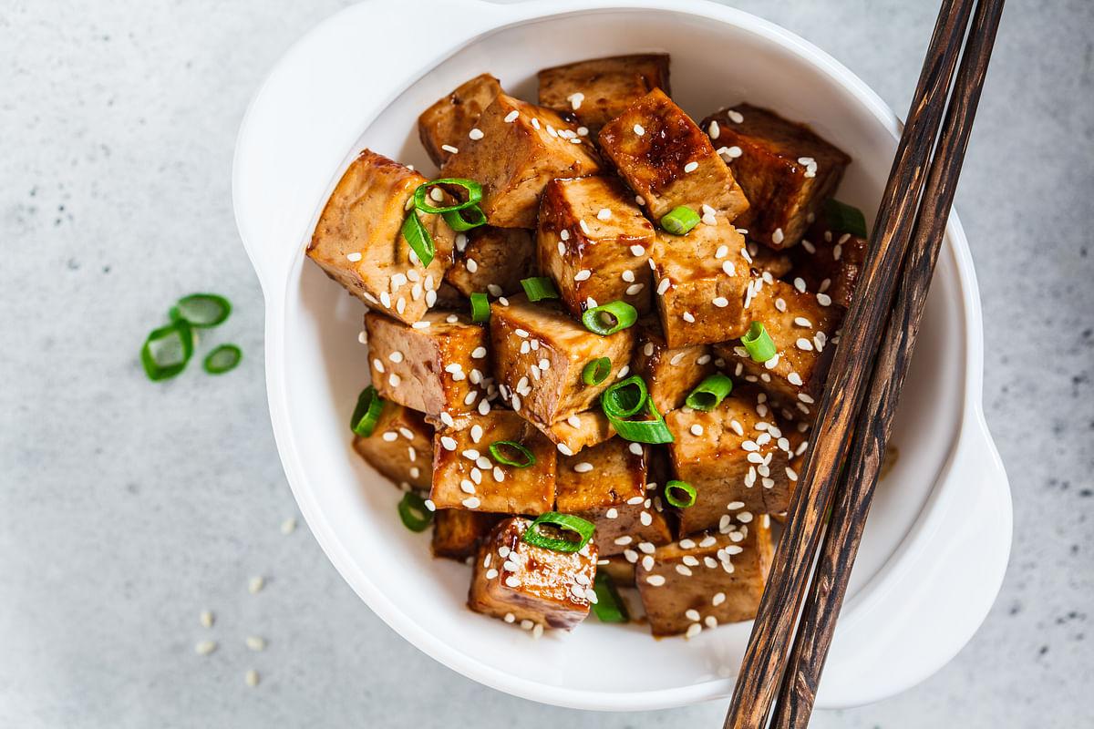 Sesame Encrusted Tofu