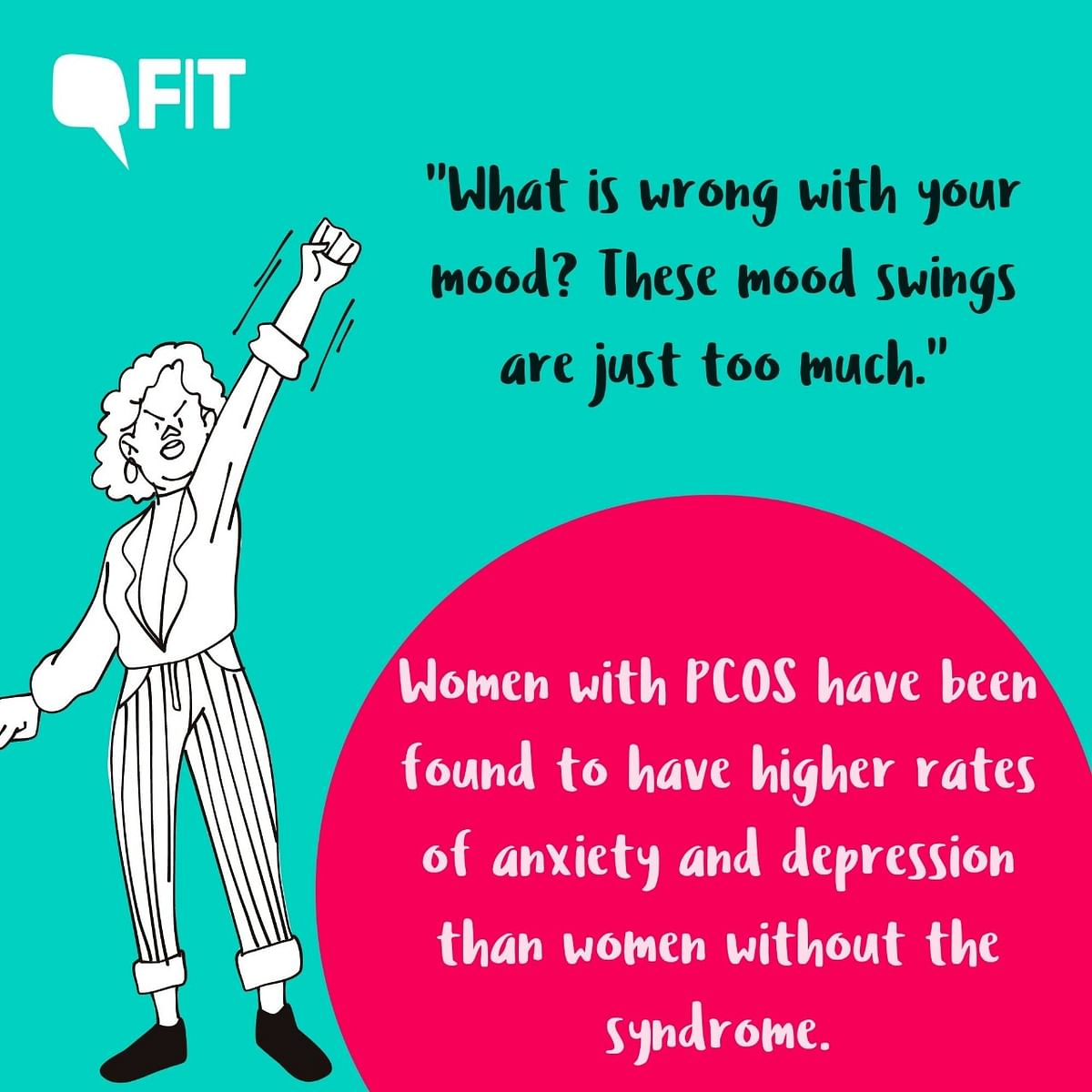 """<div class=""""paragraphs""""><p>PCOS can also lead to anxiety and depression.</p></div>"""