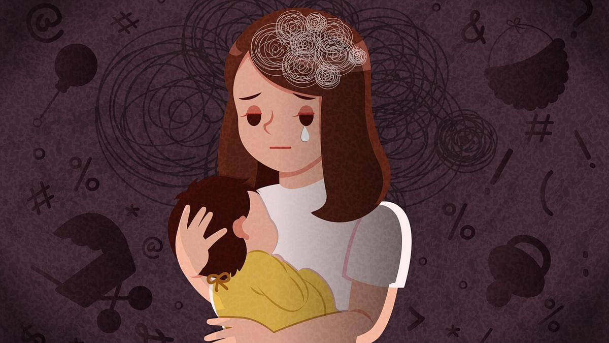 'Frustrating & Scary': Dealing with Postpartum in the Pandemic