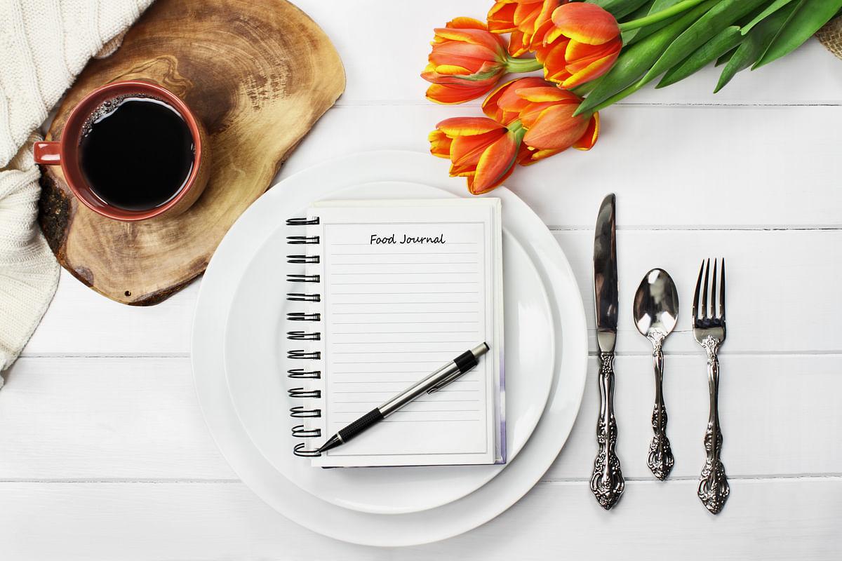 Food journaling helps