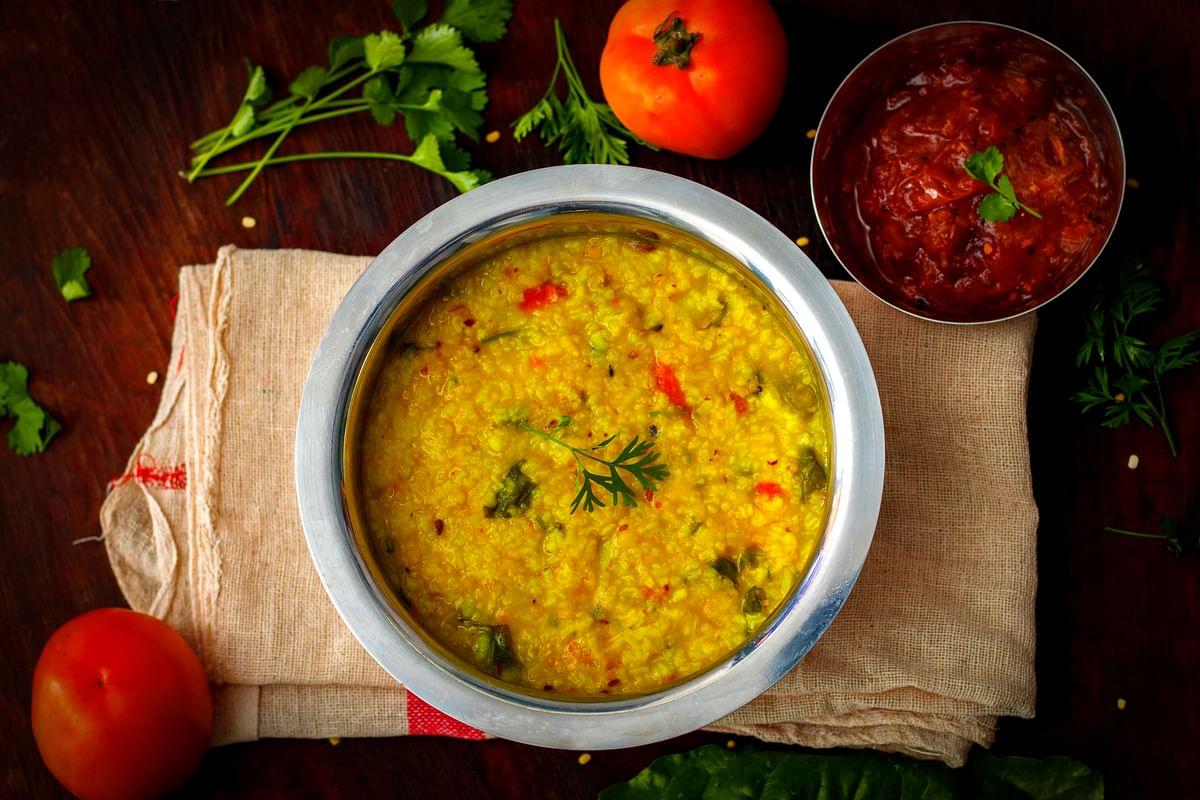 Make khichri with barley
