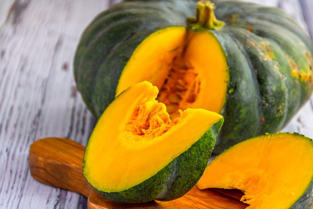 Make halwa with pumpkin