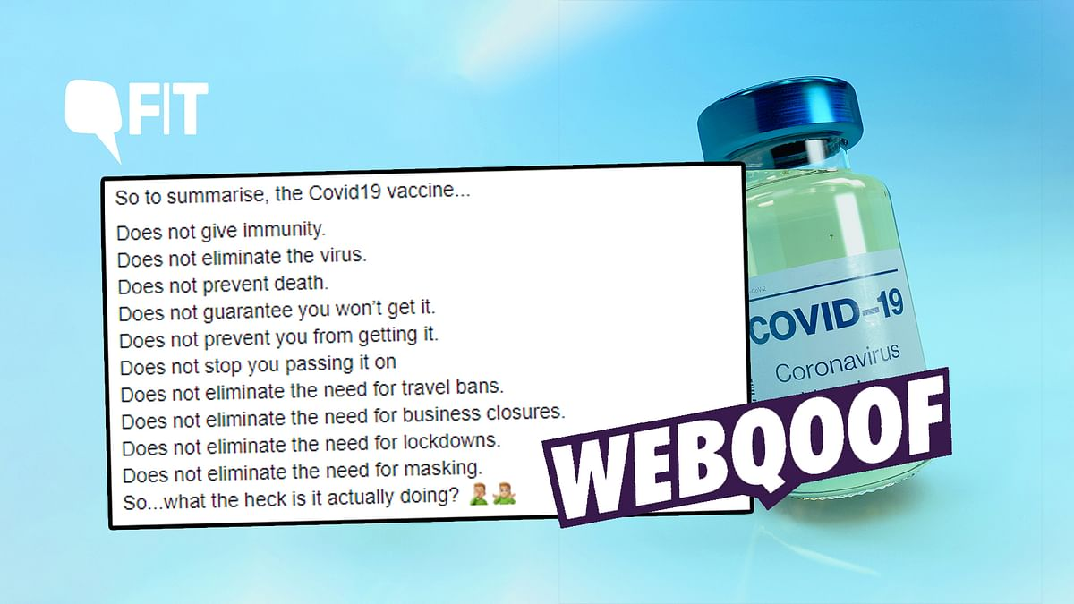 """Fact-Check of COVID-19 vaccine 