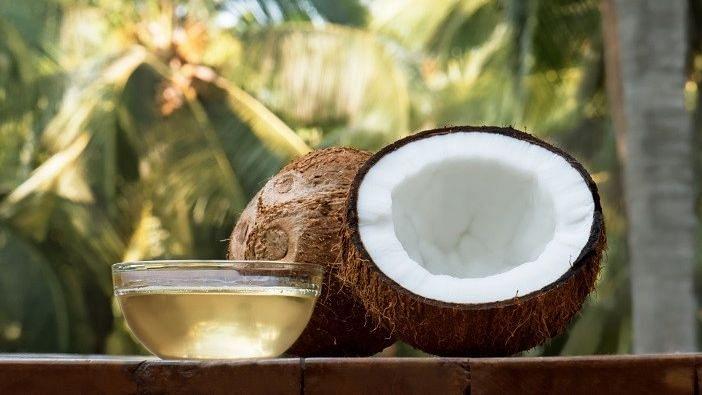 """<div class=""""paragraphs""""><p><strong>Coconut Oil Benefits:&nbsp;</strong>नारियल तेल बालों की सुरक्षा के लिए सबसे अच्छा है. </p></div>"""