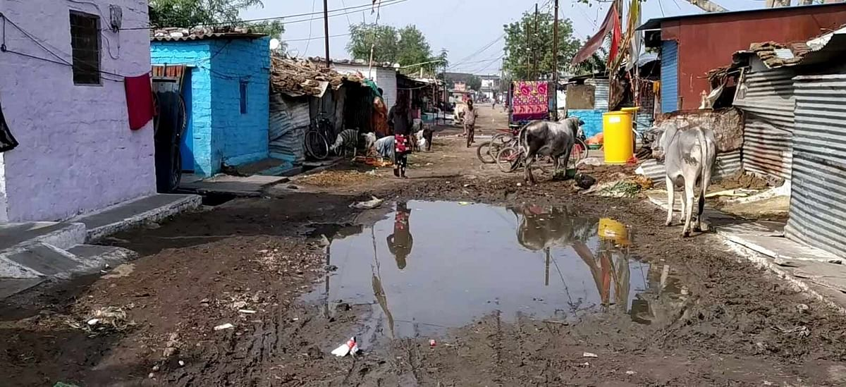 Gareeb Nagar in Bhopal, where several participants in Bharat Biotech's Covaxin trial have been recruited from.