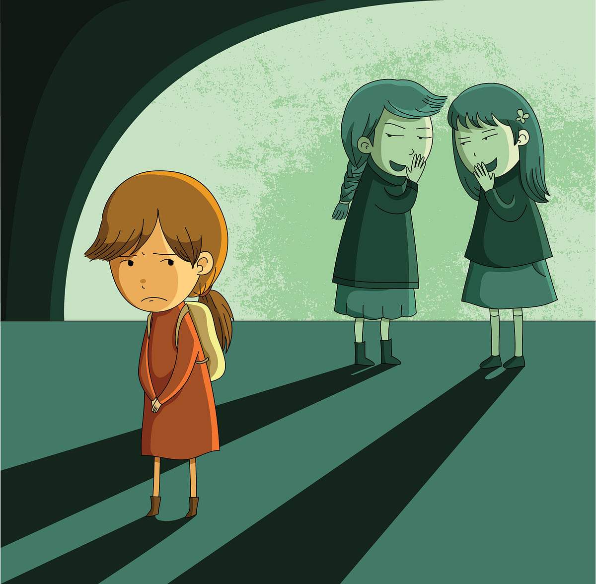 Rejection and 'othering' by peer groups can lead to persistent  social pains.