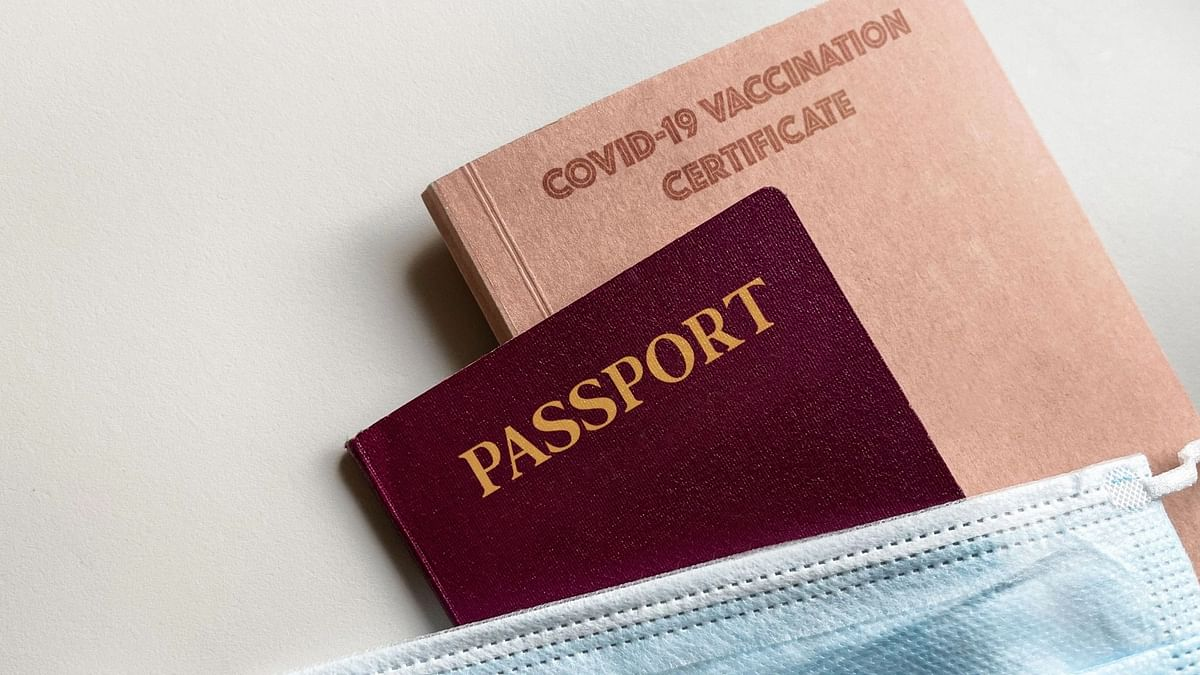 As of now, COVID passport isn't in use, but COVID Certificate is mandatory for international travel.