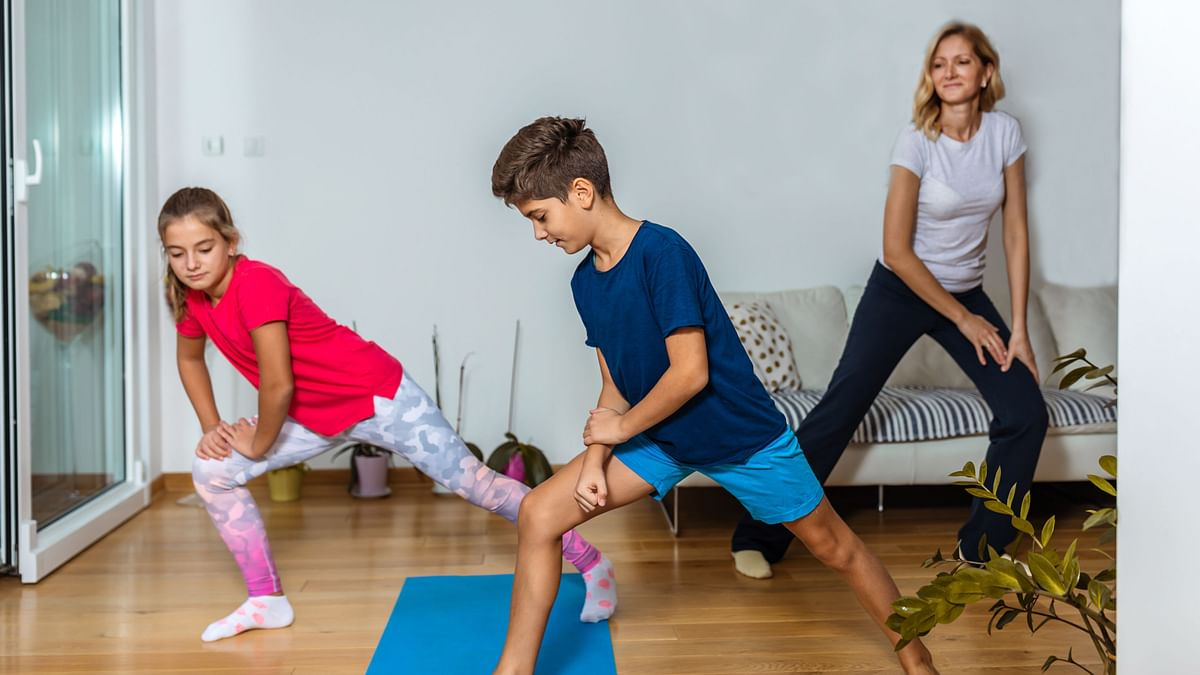 Lockdown Fitness: How to Work out at Home With Your Family