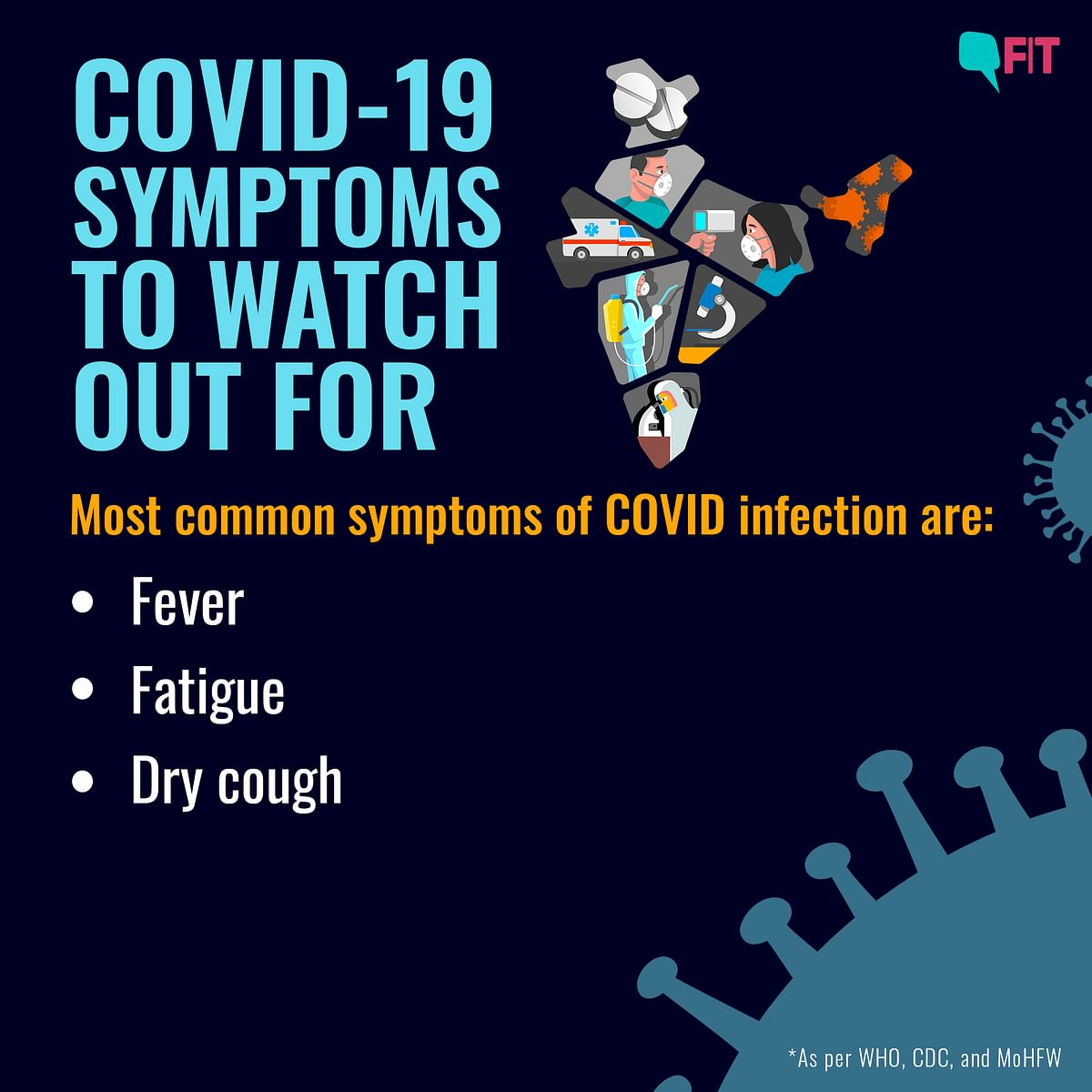 COVID Symptoms to Look Out for: the Common, the Rare, the Severe