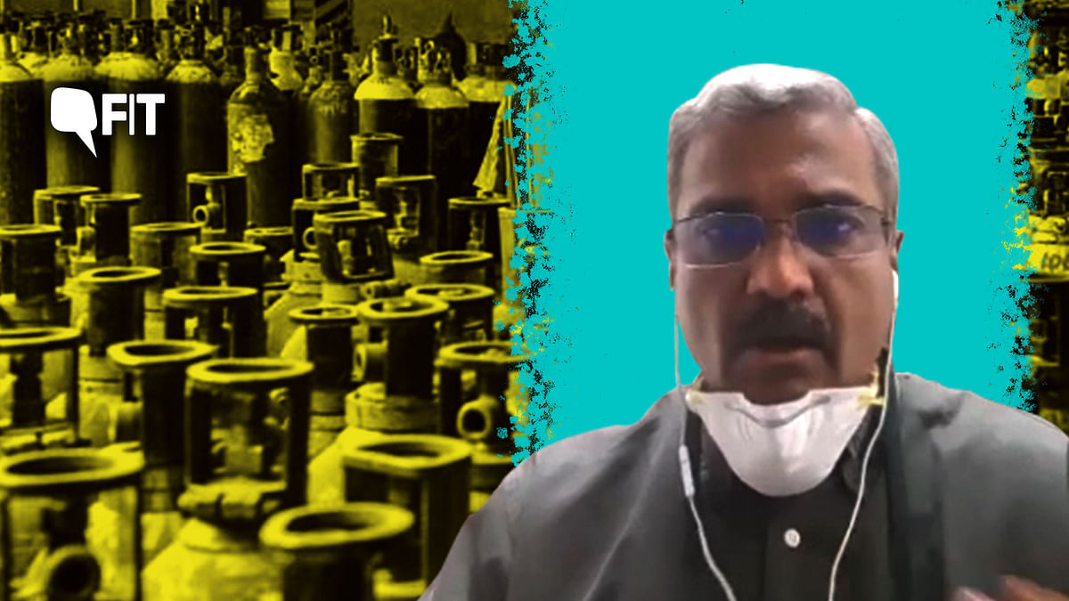 """<div class=""""paragraphs""""><p>Dr Sumit Ray of Delhi's Holy Family Hospital speaks about how he is battling oxygen crisis minute-by-minute.&nbsp;</p></div>"""