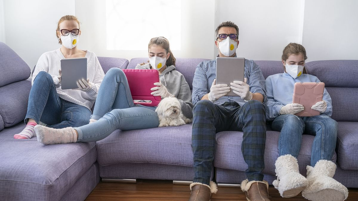 Keep your masks up even when indoors, suggest the study authors.