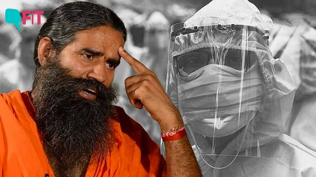 """""""I have lost many colleagues who died serving the nation. It's time you apologise Baba Ramdev,"""" say docs."""