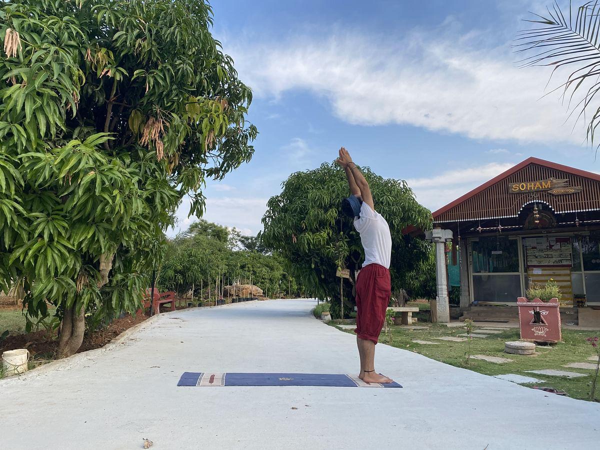 "<div class=""paragraphs""><p>Posture is an important aspect of Yoga.</p></div>"