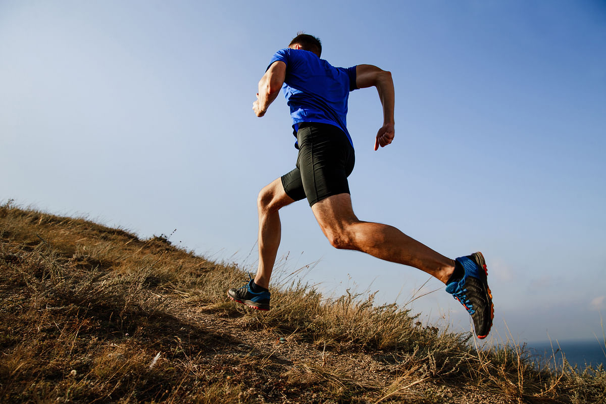 "<div class=""paragraphs""><p>Uphill running.</p></div>"