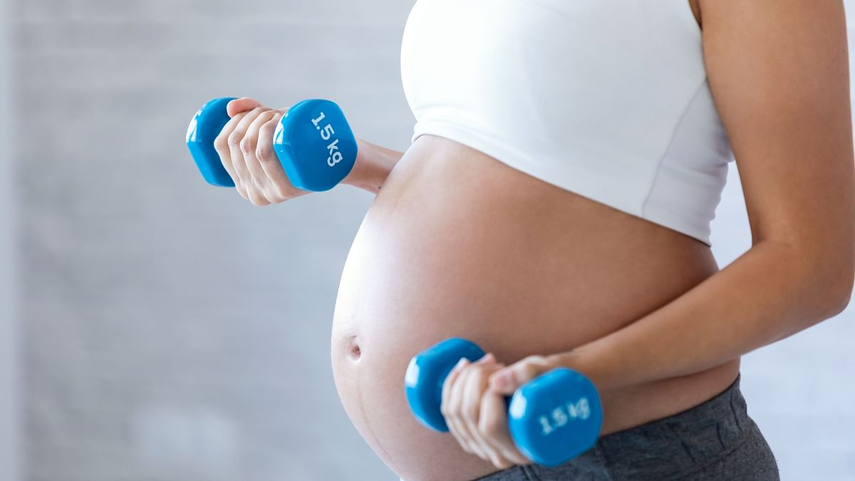 """<div class=""""paragraphs""""><p>Prenatal workouts: Pregnant women can go beyond yoga and adopt strength and conditioning exercises.</p></div>"""