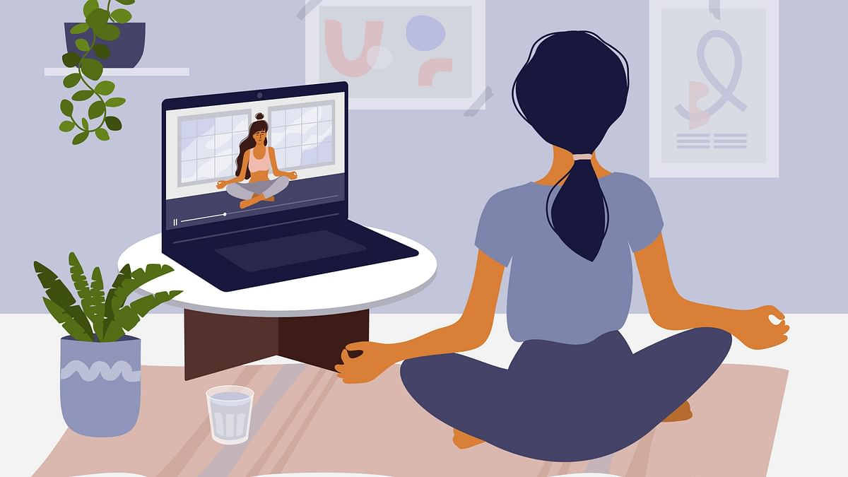 Why Online Yoga is the Star of Pandemic Workout