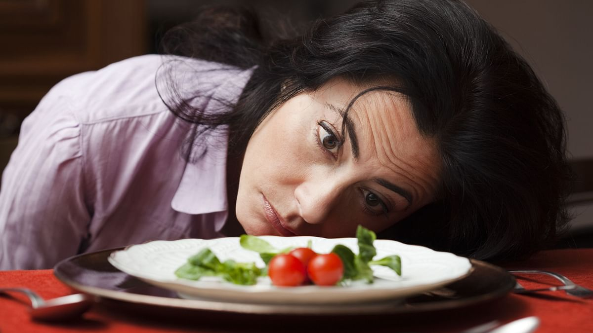"""<div class=""""paragraphs""""><p>With depression, our eating habits often suffer and hence our health is affected badly.&nbsp;</p></div>"""