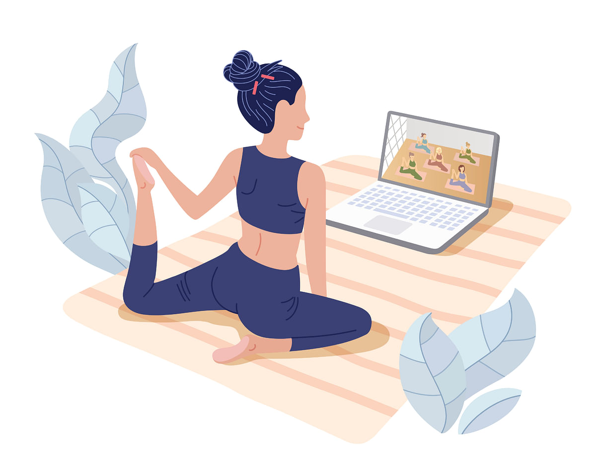"""<div class=""""paragraphs""""><p>Online Yoga classes are not just exercise sessions but also relaxing downtimes for many, away from their families, and work.</p></div>"""
