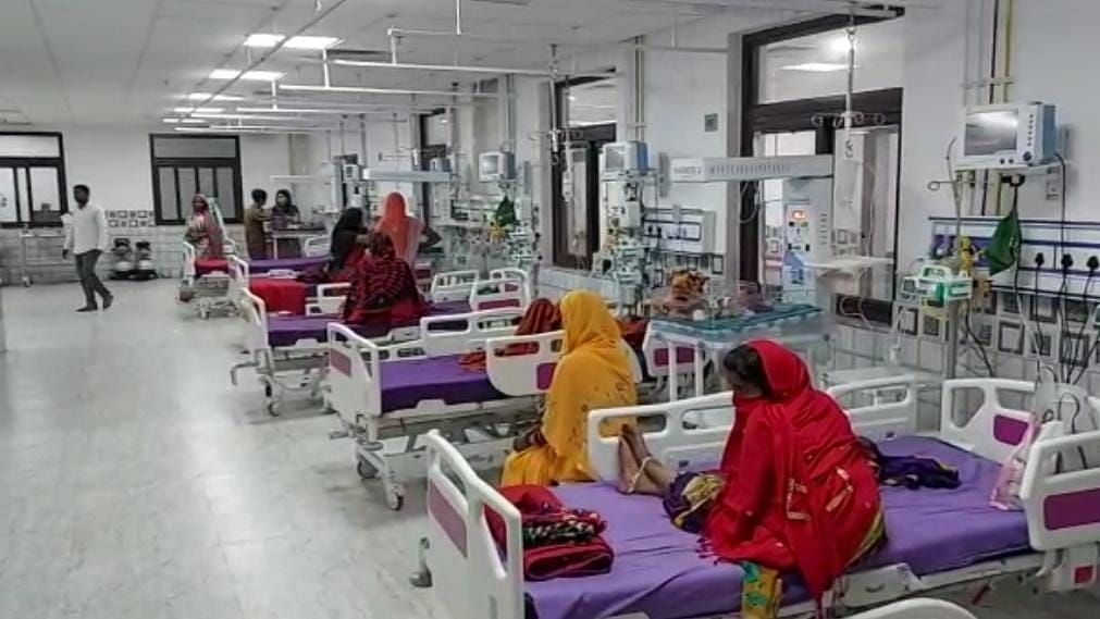 """<div class=""""paragraphs""""><p>Bihar: AES patients increased in Muzaffarpur after heat, humidity</p></div>"""