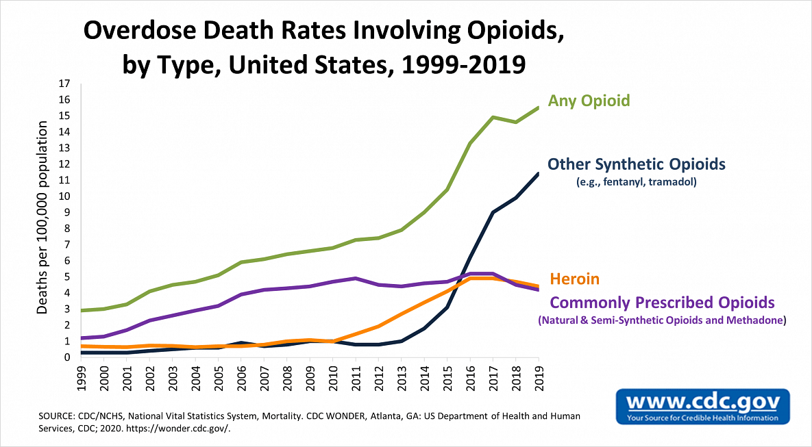 """<div class=""""paragraphs""""><p>Deaths in the US from Opioid overdose between 1999-2019</p></div>"""