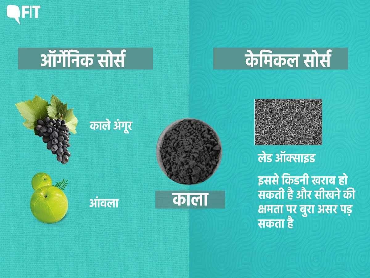 लेड ऑक्साइड का इस्तेमाल अब काला रंग को बनाने में किया जाता है.