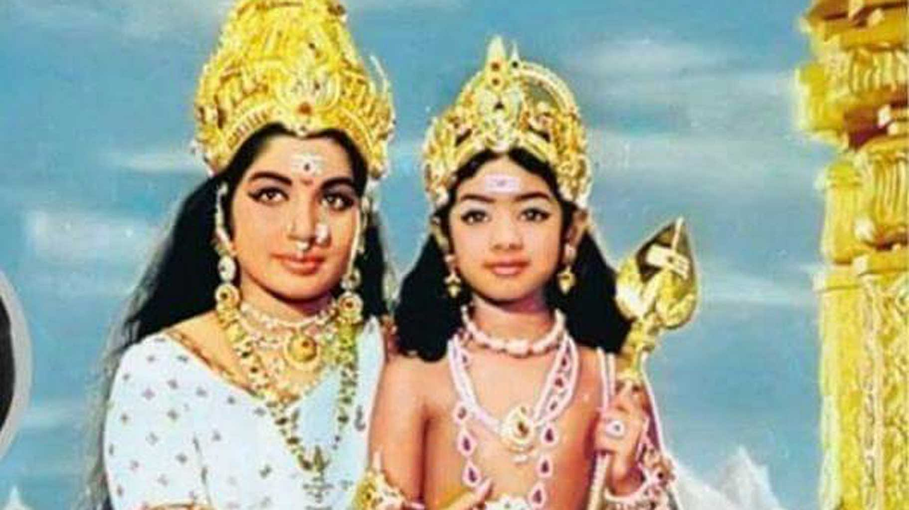 Sridevi Dies at 54 of Cardiac Arrest; Here are Photos of Her as a Child  Artist and Teen Star