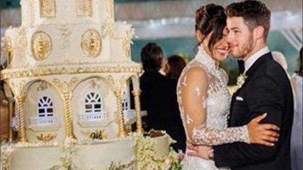 At 18 Feet Priyanka Chopra Nick Jonas Wedding Cake Is Taller