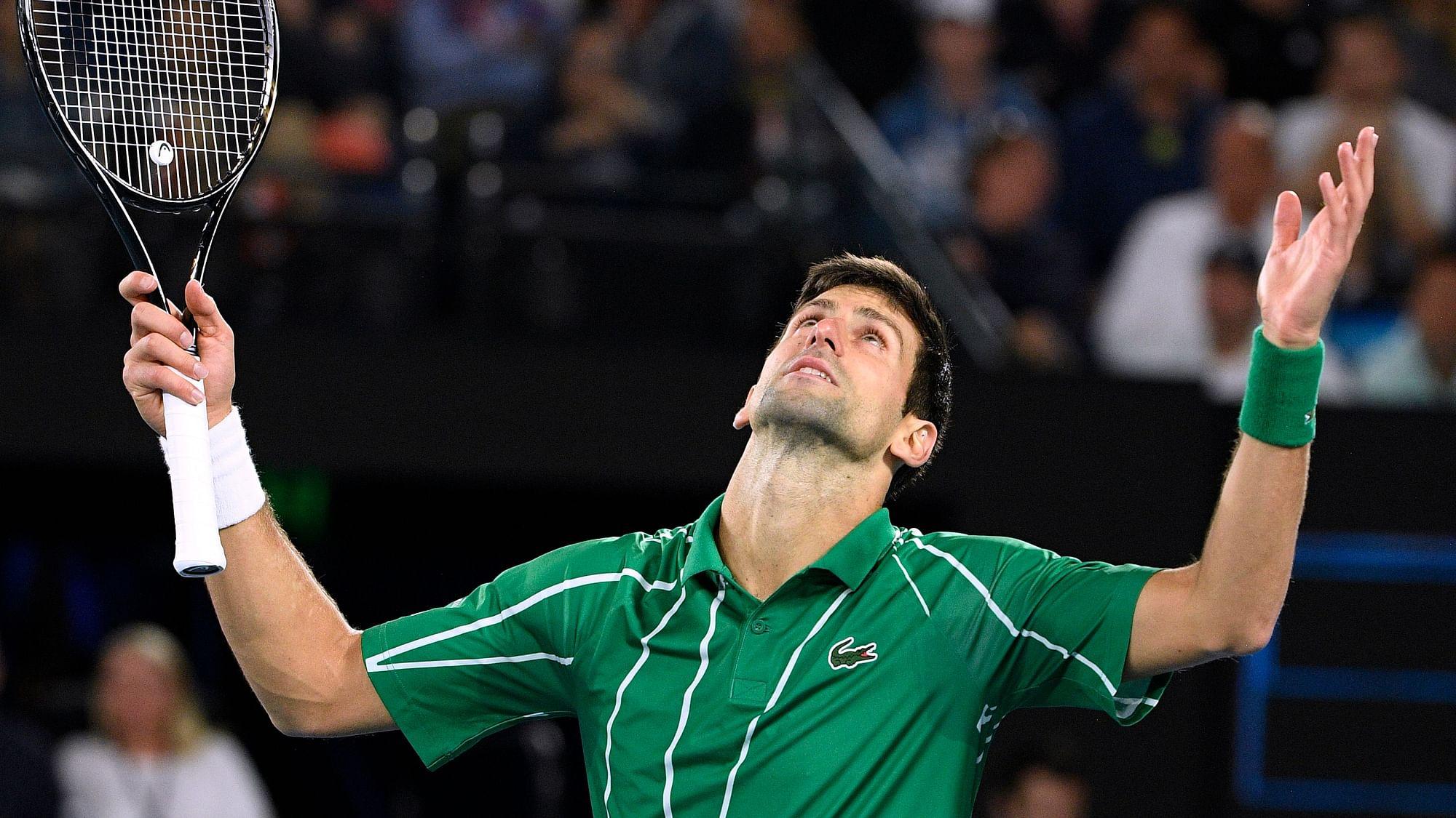 Novak Djokovic Pays Tribute To Kobe Bryant After Australian Open Win