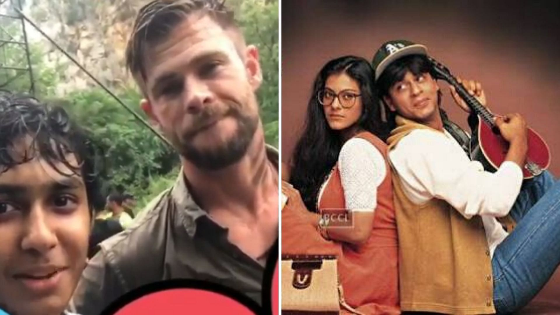 Chris Hemsworth Recites Ddlj Dialogue On Extraction Set
