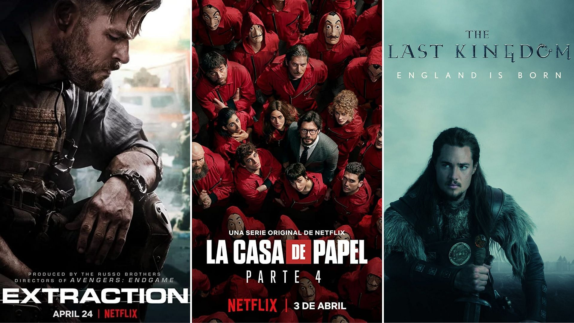New Shows And Movies On Netflix April 2020 From Jesus Colmenar S Money Heist Part 4 To Sam Hargrave S Extractio Here S A Watch List Of Everything