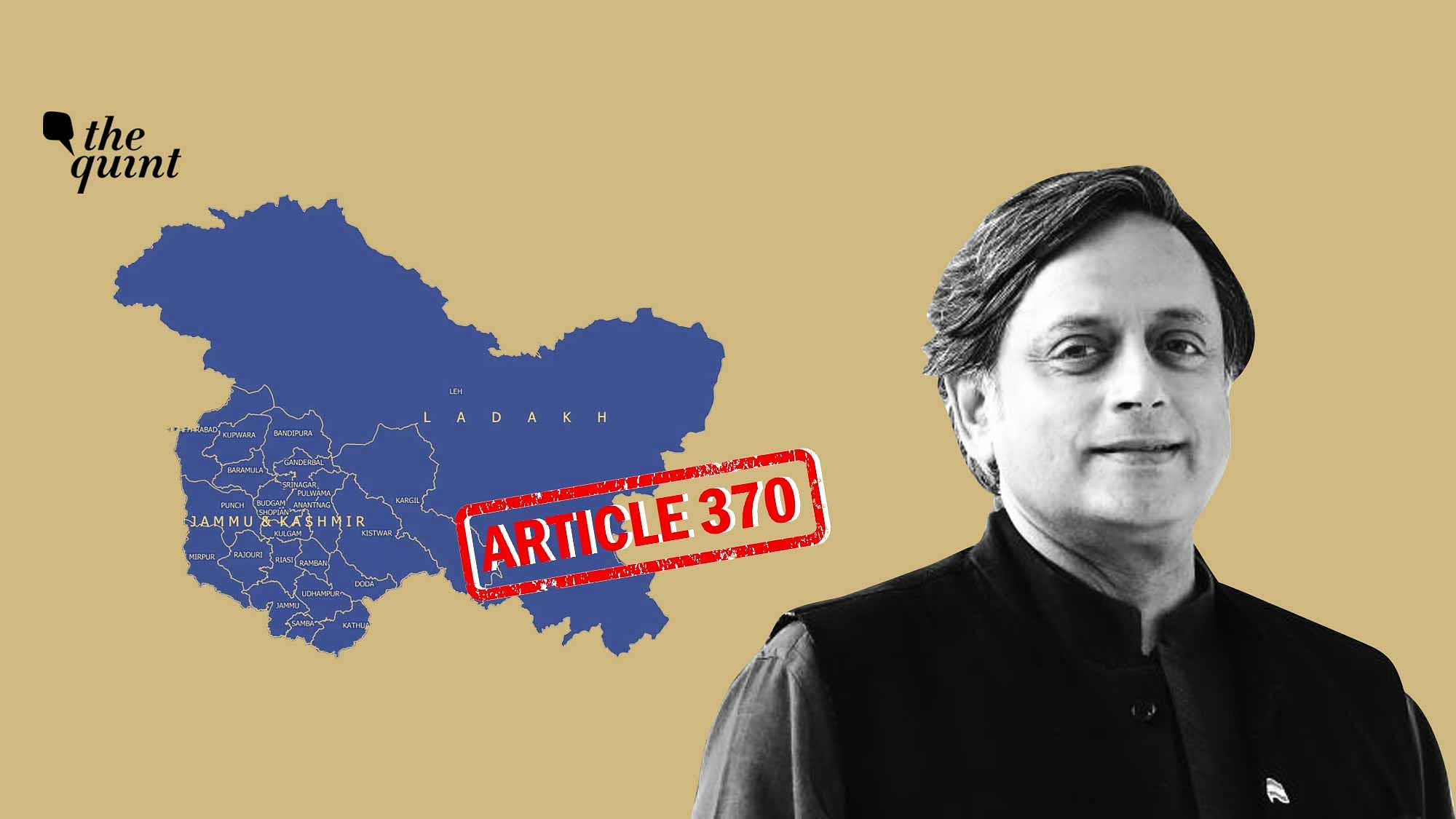 One Year Of Kashmir After Article 370 With Local Politicians Jailed Terrorism In Kashmir Has Got A New Lease Of Life Opinion By Shashi Tharoor